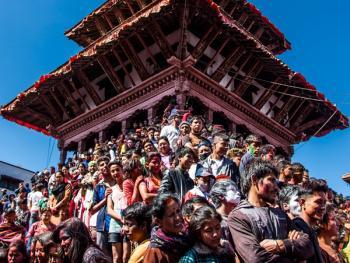 尼泊尔洒红节02