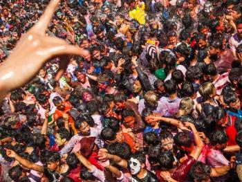 尼泊尔洒红节04
