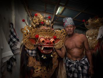 巴厘岛的巴龙舞10