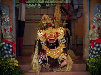 巴厘岛的巴龙舞11