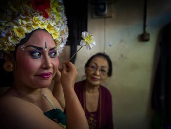巴厘岛的巴龙舞05