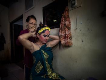 巴厘岛的巴龙舞07