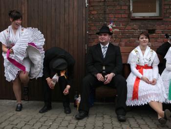 劳济茨地区索布人的节日07