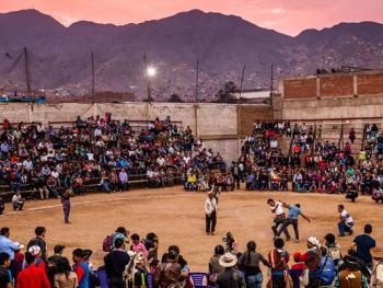 秘鲁打架节12
