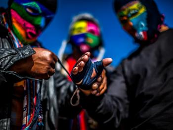 秘鲁打架节05