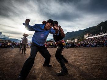 秘鲁打架节