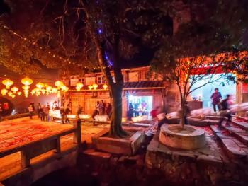 桂峰村板凳龙11