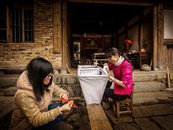 桂峰村板凳龙04