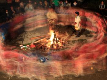羌族祭山会10