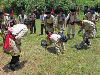 羌族祭山会