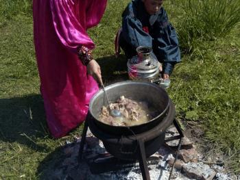 哈卡斯人庆祝初乳日11