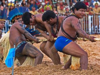 巴西土著运动会10