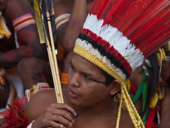 巴西土著运动会12