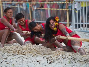 巴西土著运动会